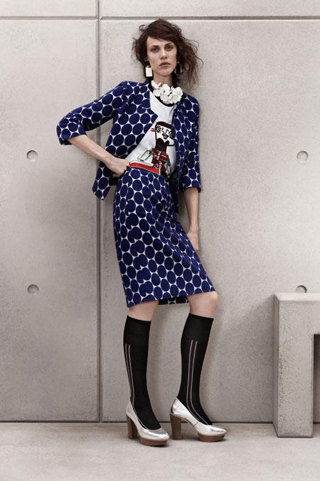 Hoa văn ấn tượng cùng MARNI x H&M Lookbook
