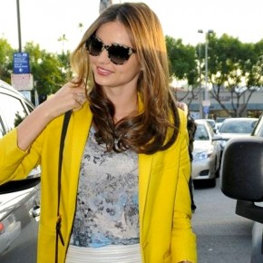 Miranda Kerr Picks Up Groceries in Stella McCartney and Erdem