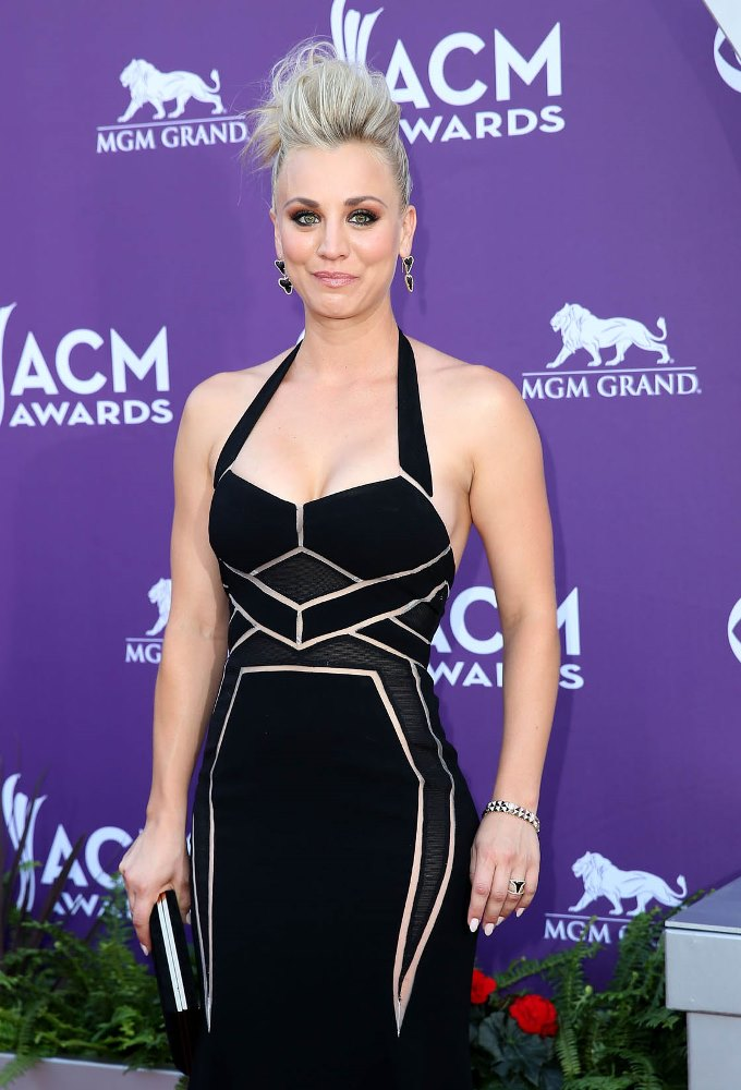 48th Annual ACM Awards held at the MGM Grand Garden Arena inside MGM Grand - Arrivals Featuring: Kaley Cuoco Where: Las Vegas, Nevada, United States When: 07 Apr 2013 Credit: Judy Eddy/WENN.com