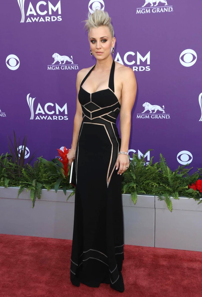 48th Annual ACM Awards held at the MGM Grand Garden Arena inside MGM Grand - Arrivals Featuring: Kaley Cuoco Where: Las Vegas, Nevada, United States When: 07 Apr 2013 Credit: FayesVision/WENN.com