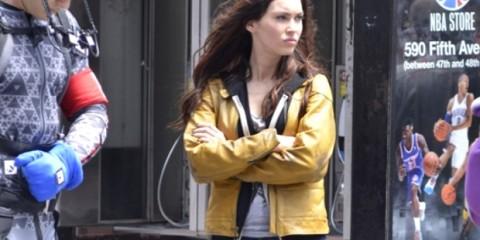 Megan Fox on the set of 'Teenage Mutant Ninja Turtles'  Featuring: Megan Fox Where: New York City, NY, United States When: 20 May 2013 Credit: TNYF/WENN.com