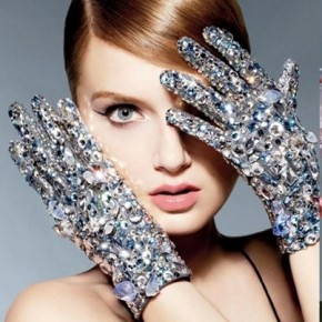 SWAROVSKI ELEMENTS Campaign Featuring Candice Swanepoel