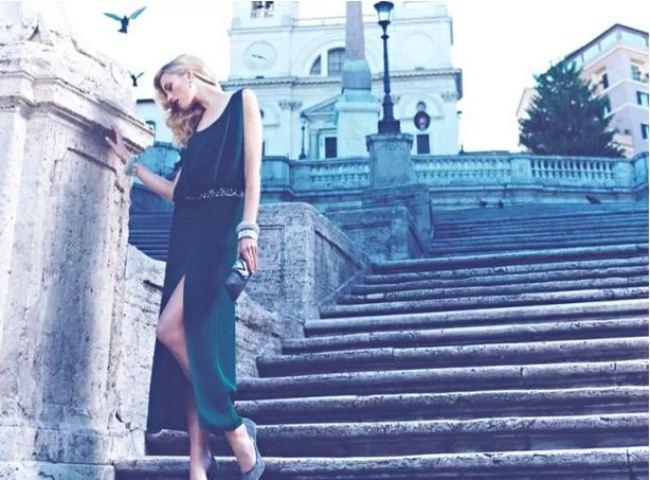 0eafb20e71b3 Cato Van Ee Returns For Luisa Spagnoli Fall 2013 Campaign