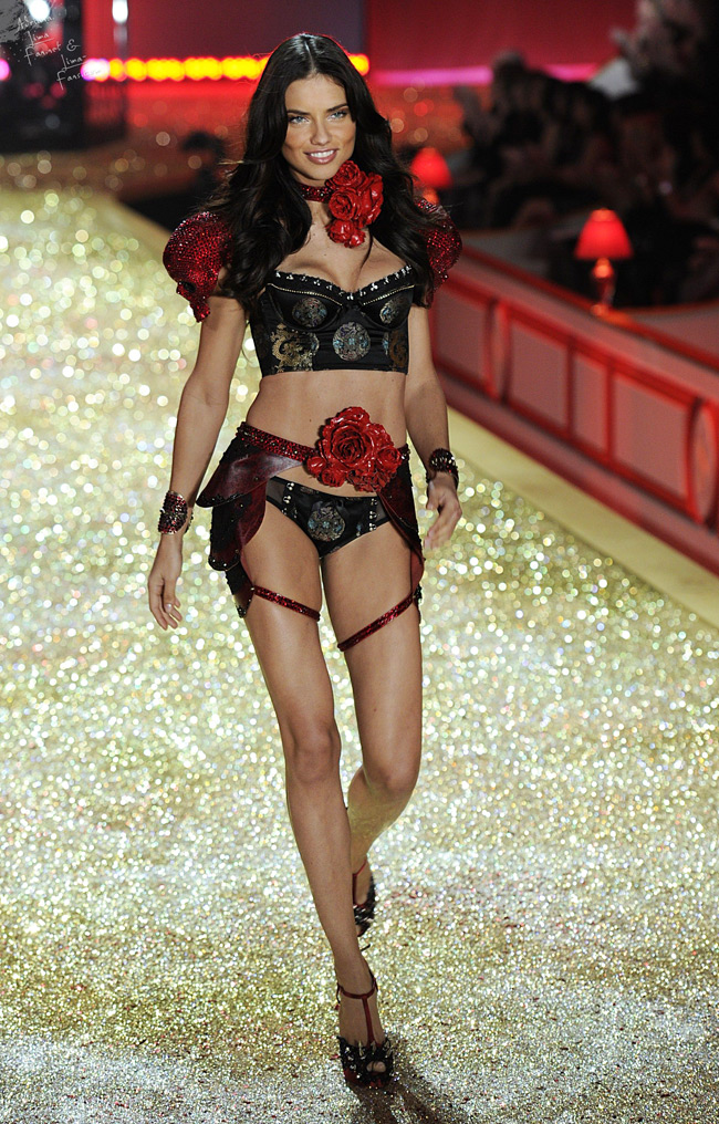 WTFSG-Adriana Lima at 2010 Victoria's Secret Fashion Show
