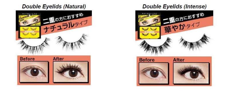 Maybelline double eyelids