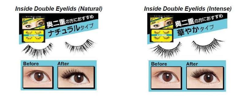 Maybelline inside double eyelids