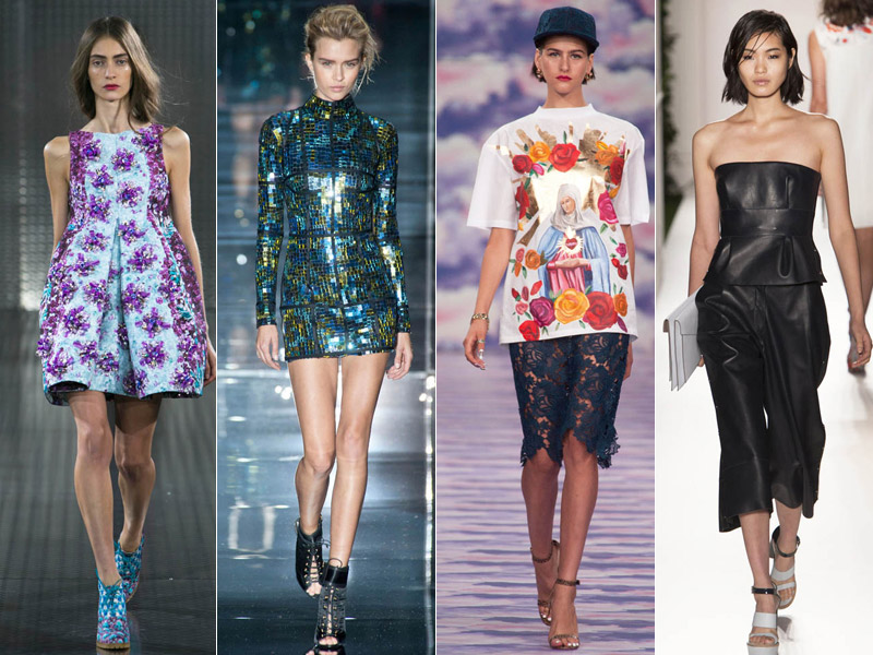 Spring/Summer 2014 fashion trends: Top 7 looks for this