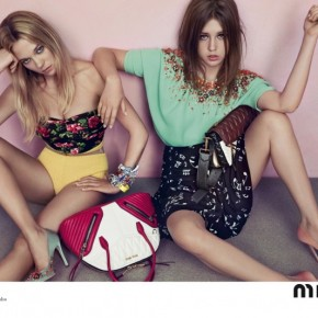 Miu Miu Resort 2014 Ads