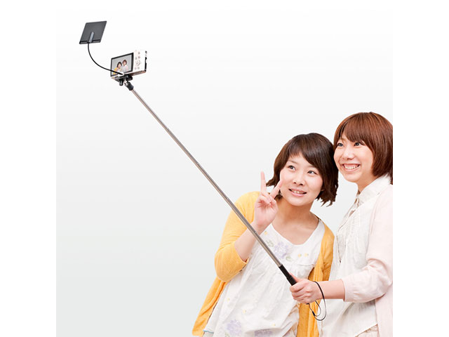 the selfie stick loyola digital advertising. Black Bedroom Furniture Sets. Home Design Ideas