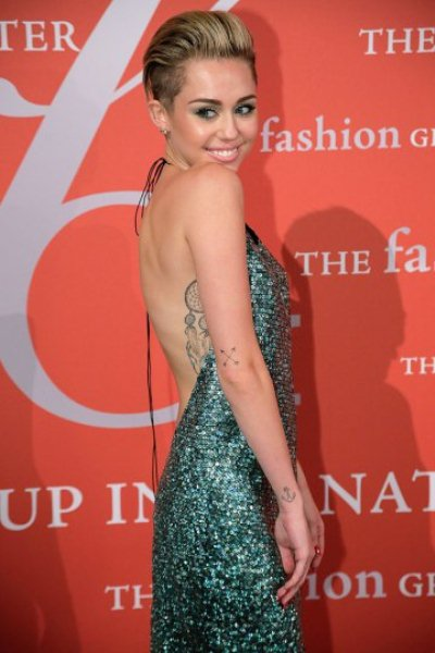 NEW YORK, NY - OCTOBER 22:  Miley Cyrus attends the 30th Annual Night Of Stars presented by The Fashion Group International at Cipriani Wall Street on October 22, 2013 in New York City.  (Photo by Randy Brooke/Getty Images)