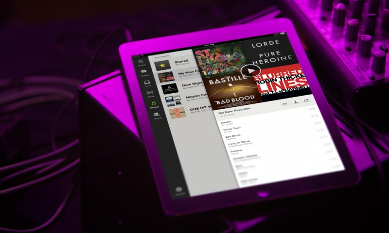 Spotify Now Free On Mobile And Tablet