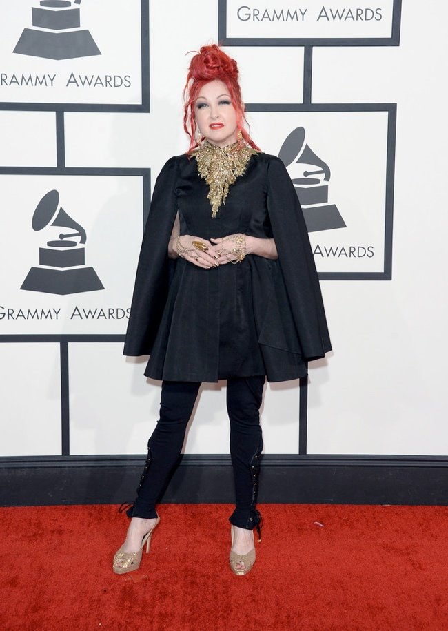 WTFSG-2014-grammy-awards-red-carpet-cyndi-lauper