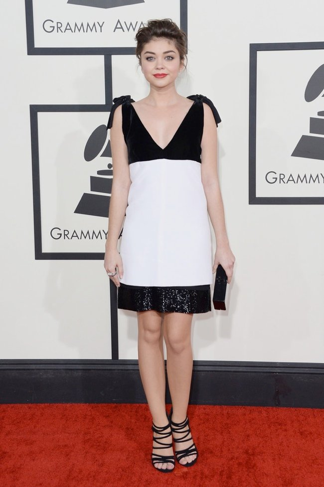 WTFSG-2014-grammy-awards-red-carpet-sarah-hyland