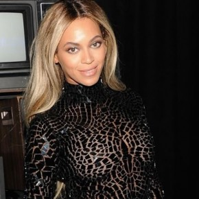 Beyoncé Marks the Release of Her Album in a Mosaic Tom Ford Ensemble