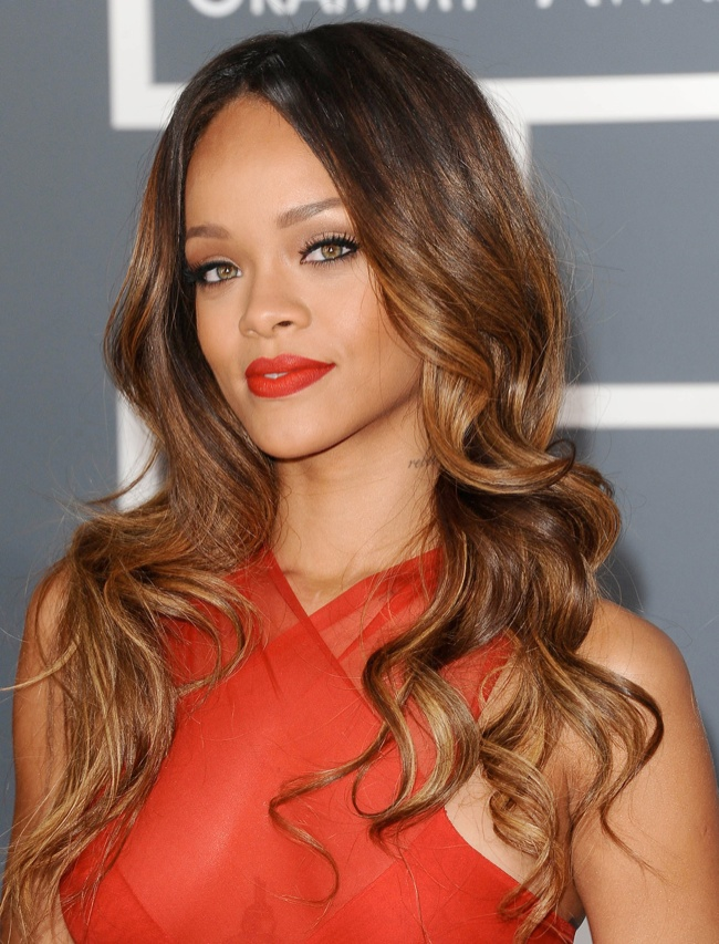 RIHANNA at Grammy Awards
