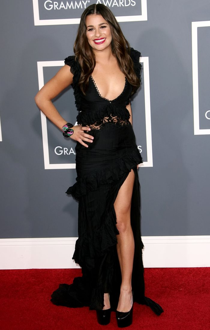 WTFSG-lea_michele_black_dress_sexy