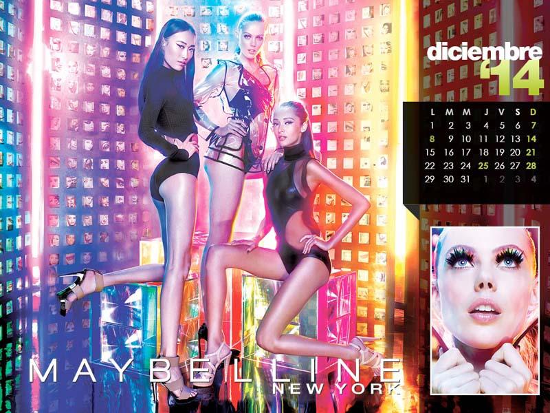 WTFSG-maybelline-calendar-2014-Dec-Shu-Pei-Frida-Gustavsson-Daniela-de-Jesus