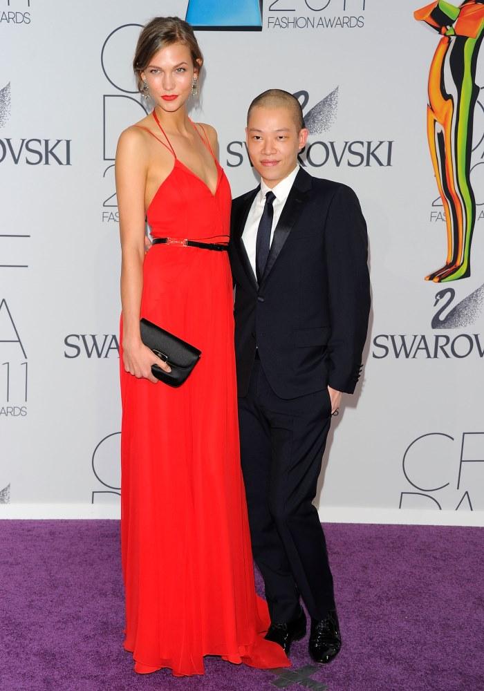 WTFSG-2011-CFDA-Awards-Karlie-Kloss-Jason-Wu-designer