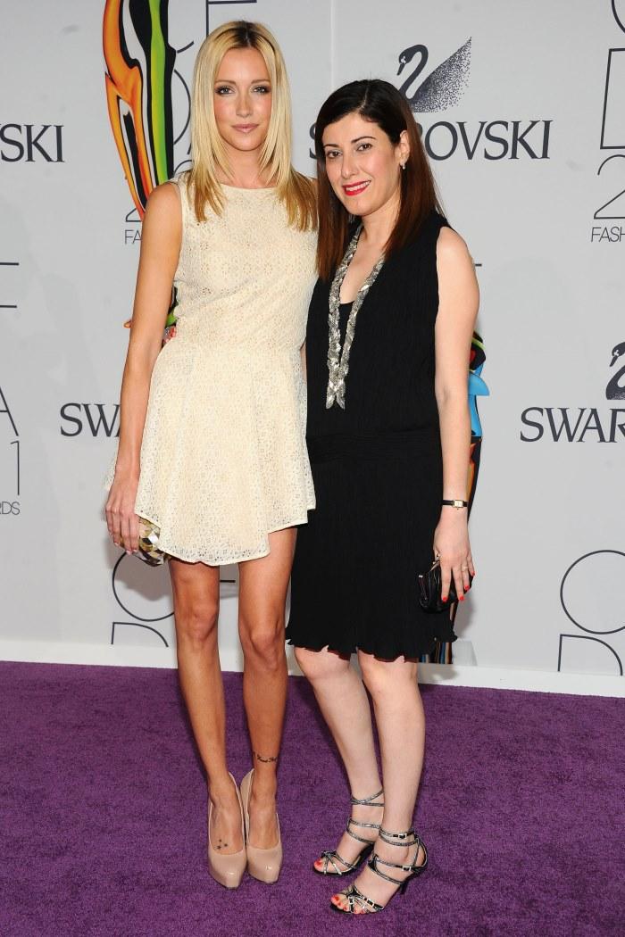 WTFSG-2011-CFDA-Awards-Katie-Cassidy-Behnaz-Sarafpour-designer