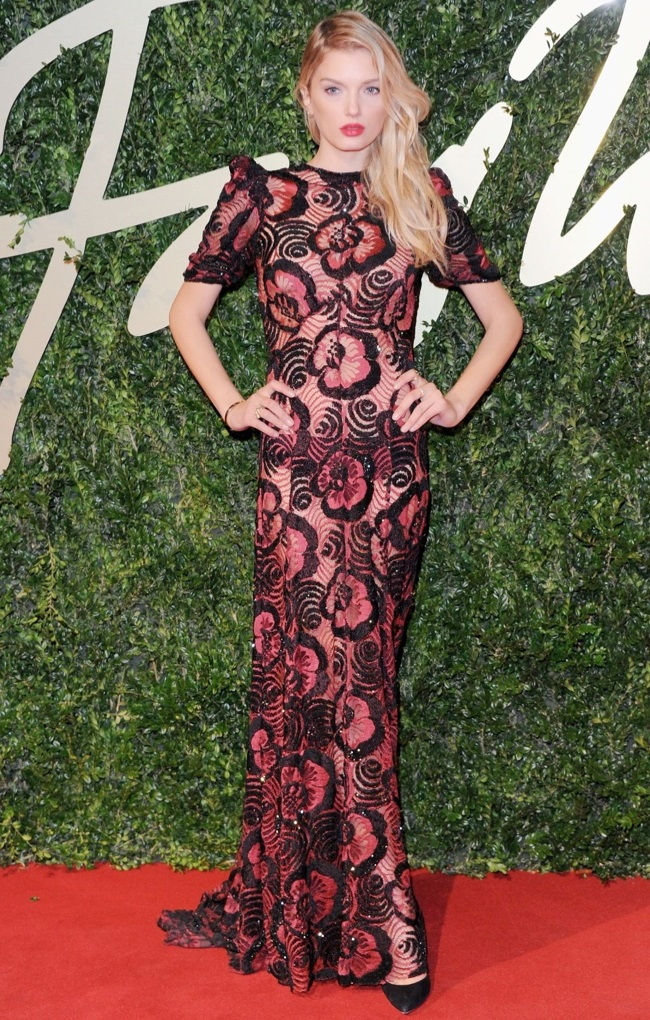 WTFSG-2013-british-fashion-awards-lily-donaldson