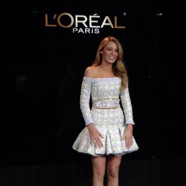 WTFSG-LOréal-Paris-Blake-Lively-spokesperson