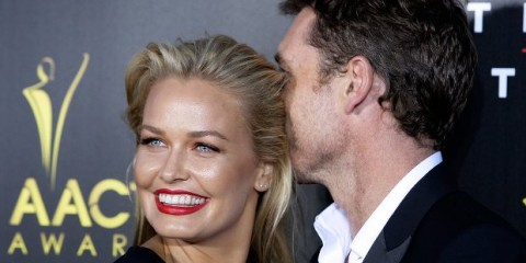 WTFSG-Lara-Bingle-Sam-Worthington-2014-AACTA-Awards