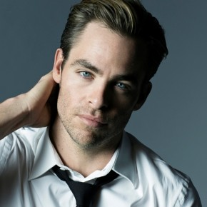 Chris Pine for Armani Code