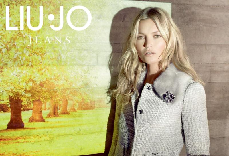 cheap for discount 48d1d 984e0 Kate Moss Fronts Liu Jo Fall 2013 Ads