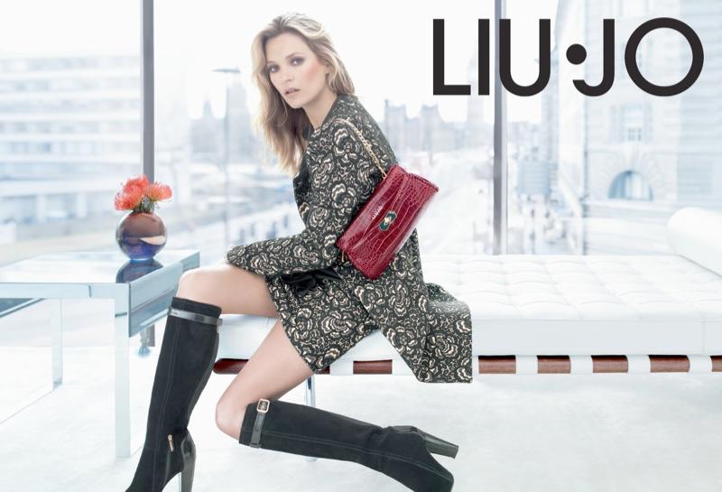 Kate Moss Fronts Liu Jo Fall 2013 Ads da26f6683394