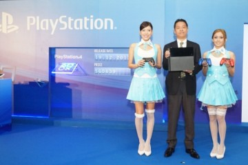 WTFSG-Hiroyuki-Oda-Deputy-President-of-Sony-Computer-Entertainment-introducing-the-new-PS4-console-and-controllers