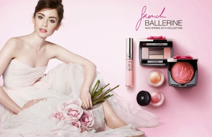 WTFSG-Lily-Collins-Lancome-French-Ballerine-Spring-2014-makeup-collection