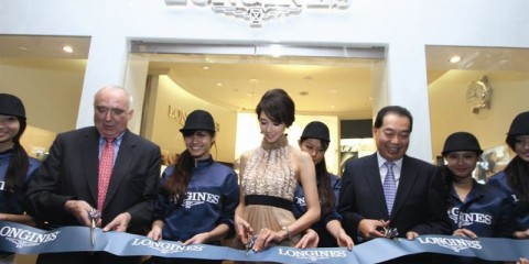 WTFSG-Ribbon-cutting-outside-new-Longines-Boutique