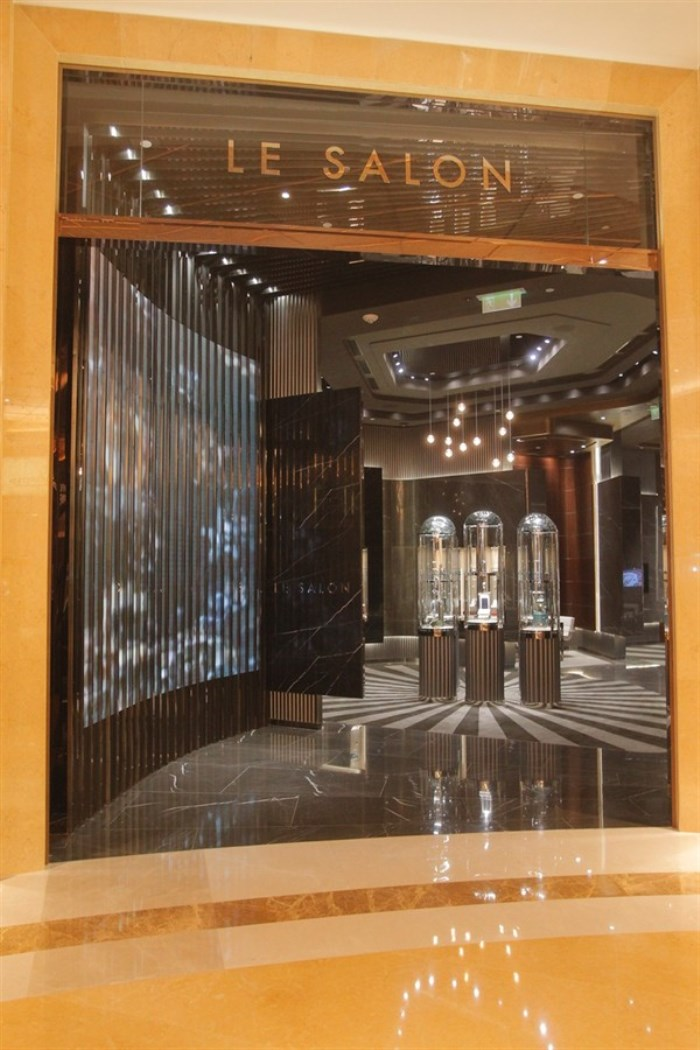 WTFSG-dfs-group-opens-masterpieces-of-time-iv-venetian-macao-Salon-Entrance