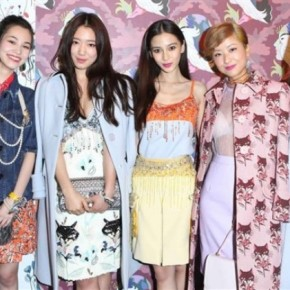Miu Miu Hosts Cocktail Reception at Flagship Store in Hong Kong