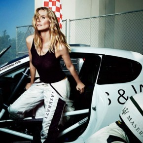 Heidi Klum for Maserati 2014 Ads by Francesco Carrozzini