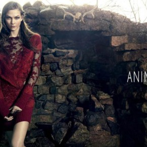 Karlie Kloss for Animale Fall Winter 2014 Campaign