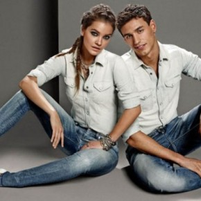 Barbara Palvin for GAS Jeans Spring 2014 Campaign