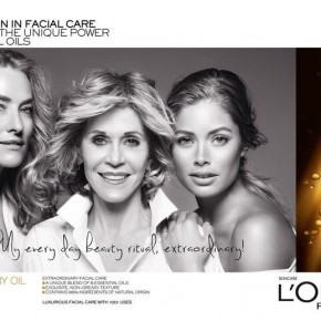 Jane Fonda, Doutzen Kroes + Tatjana Patitz Prove Beauty is Ageless in New L'Oreal Ad