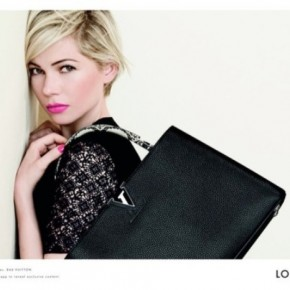 Michelle Williams for Louis Vuitton 2014 Handbag Campaign