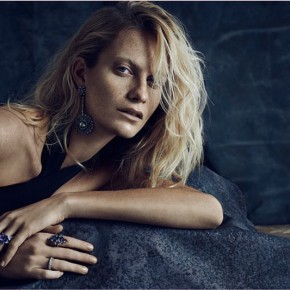 Poppy Delevingne Shines in Talento Jewelry 2014 Campaign