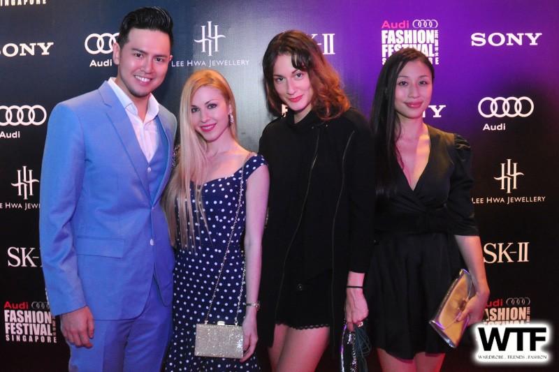 WTFSG-audi-fashion-festival-2014-day-4-vip-guest_Herbert-Rafael_Vanessa-Emily_Eleonora-Graziani_Yating-Li-Vanderzwan