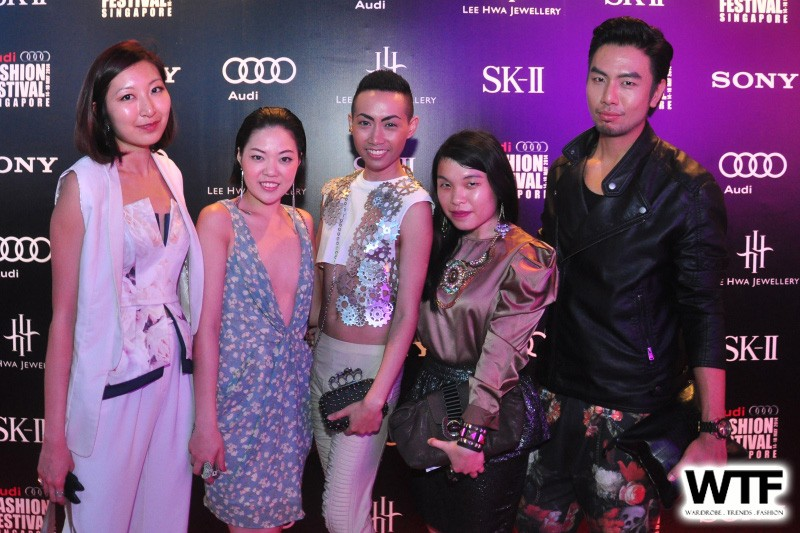 WTFSG-audi-fashion-festival-2014-day-4-vip-guest_Vera-Mao_Klee-ZiJun_Azawi-David_Jessica-Ye_Adrian-Juin