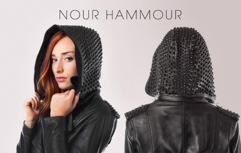 WTFSG-Nour-Hammour-Studhead-Leather-Hoodie