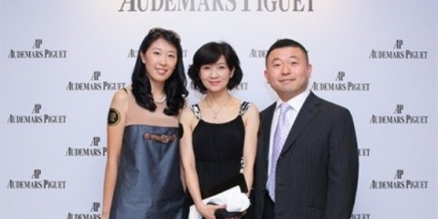 WTFSG_audemars-piguet-hk-new-chronograph_Claudia-Yan_Pauline_Albert-Wong