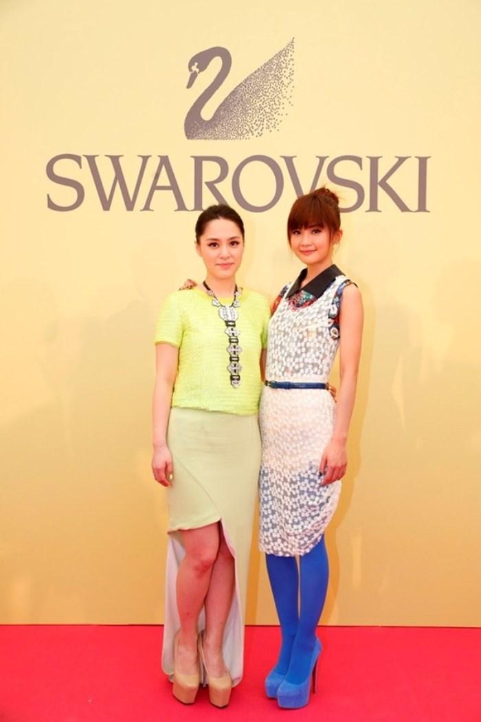 WTFSG_swarovski-tropical-paradise-hong-kong_Gillian-Chung_Charlene-Choi