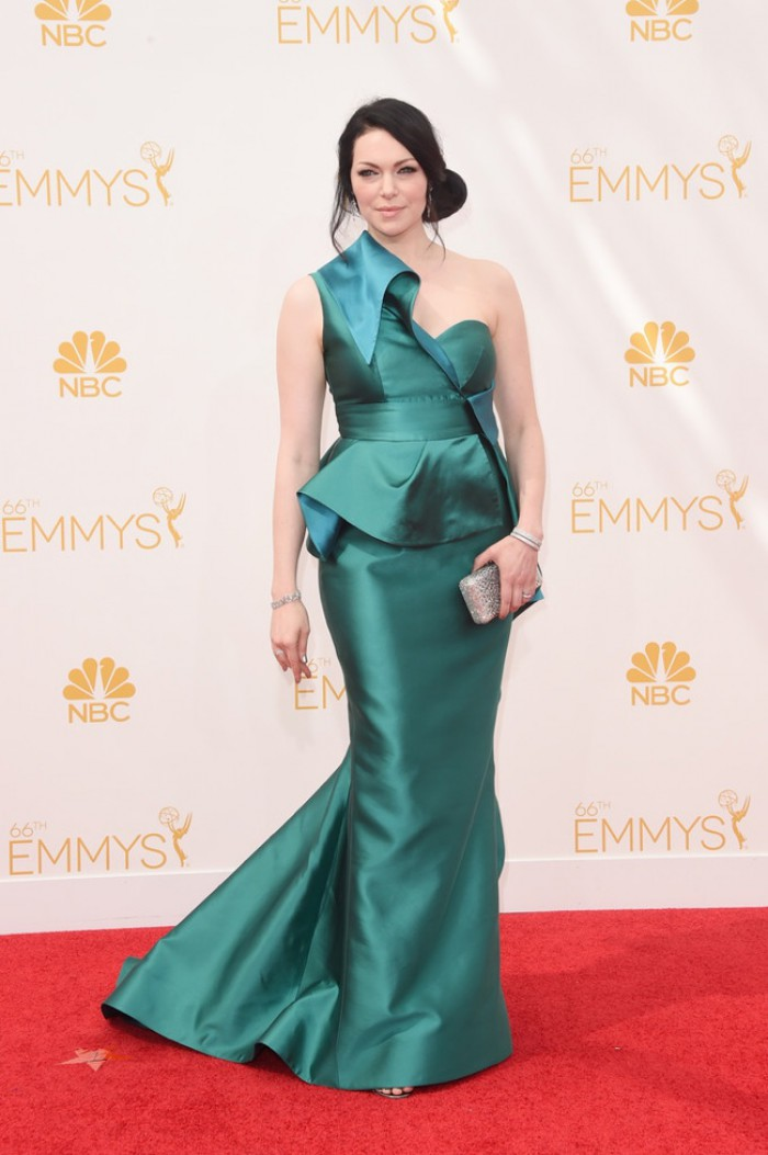 WTFSG-emmys-2014-red-carpet-laura-prepon-gustavo-cadile