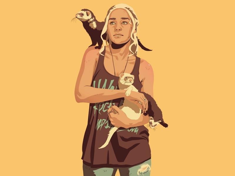 WTFSG_Game-Of-Thrones_Mike-Wrobel_Daenerys-Targaryen