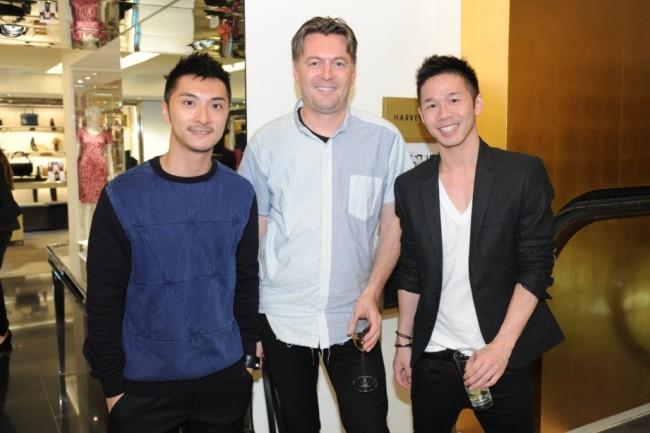 WTFSG_The-Great-Cast-of-British-Designers-Exhibition_Harvey-Nichols-Landmark_Markus-Lupfer-guests