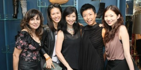 WTFSG_sergio-rossi-opening-cocktail_Shirley-Hiranand_Ryoon-Hee-Kim_Jane-Lee_Stella-King_Carmen-Tse