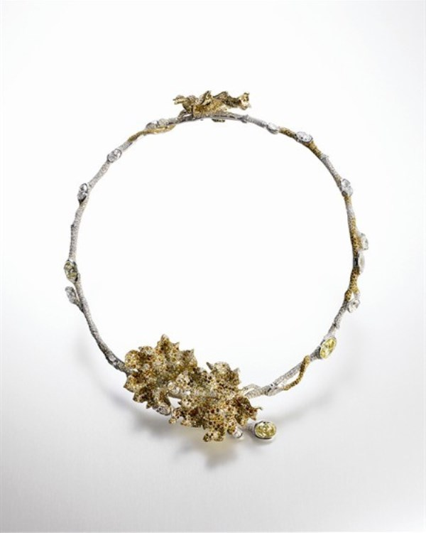 WTFSG_taiwanese-jeweler-cindy-chao-first-exhibition-beijing_Maple-Leaf-Choker